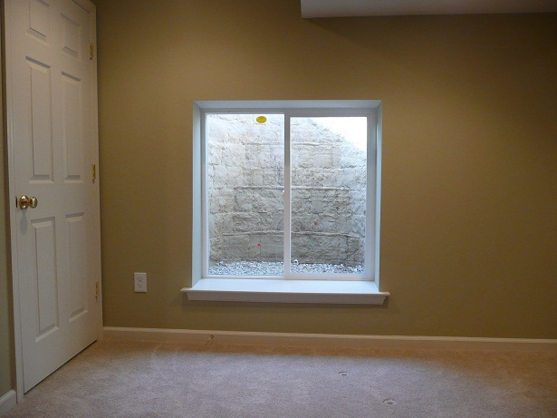 Egress windows acc finished basement remodeling for Bedroom egress window requirements